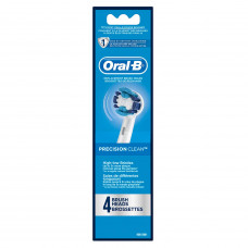 Oral-B Professional Precision Clean Replacement Brush Heads, 4ct